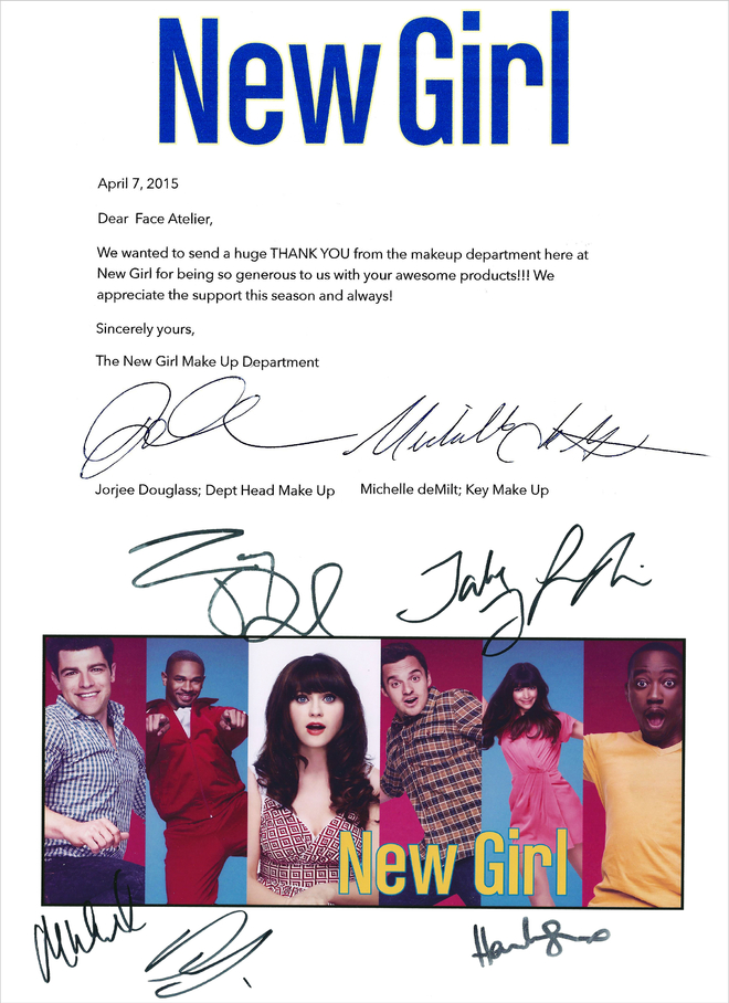 New Girl season 4 thank you